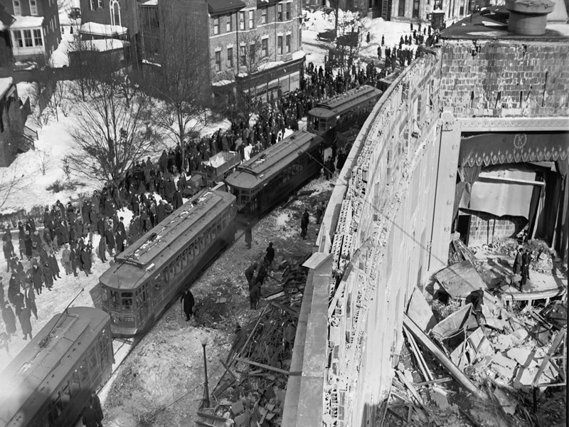 Knickerbocker Theater Collapse