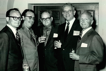 Earl Mathes at 1966 NCARB meeting