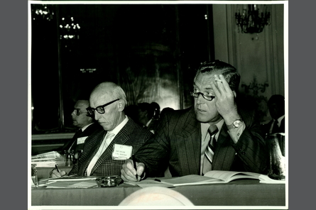 Ohio delegates at the 1971 NCARB Annual Meeting.