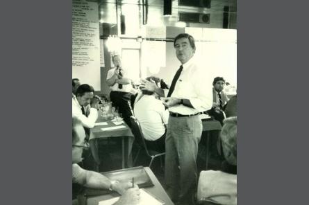 1980s Examination Committee Meeting Georgia
