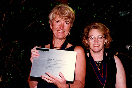 Ann Chaintreuil and Susan May Allen