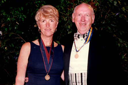 E. Keith Dean awarded President's Medal