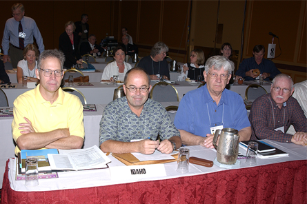 Idaho delegates at 2002 NCARB meeting