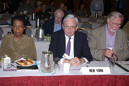 New York architects attend 2002 meeting