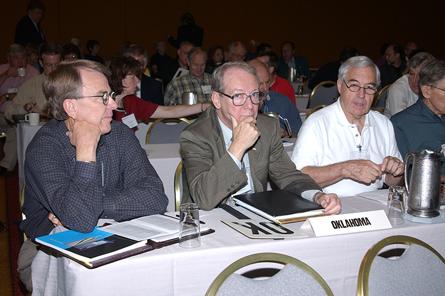 Oklahoma architects at NCARB meeting