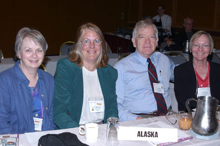 Alaska delegates at 2002 Annual Business Meeting
