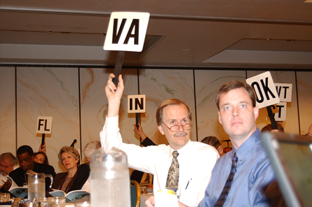 Virginia architects at 2003 NCARB meeting