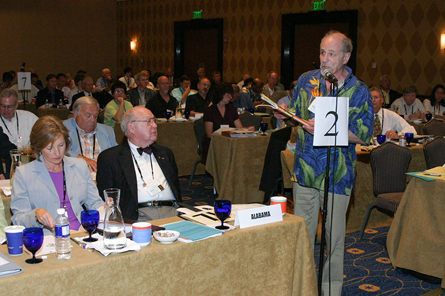 Roger L. Meyer at 2005 NCARB meeting