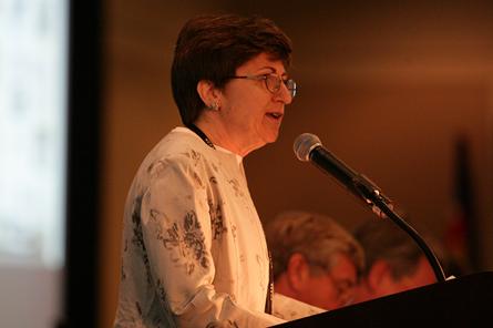 Barbara Sestak at NCARB meeting