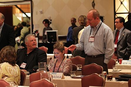 Nebraska Board at 2011 Annual Meeting.
