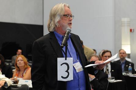 Ricky Engebretson at NCARB meeting