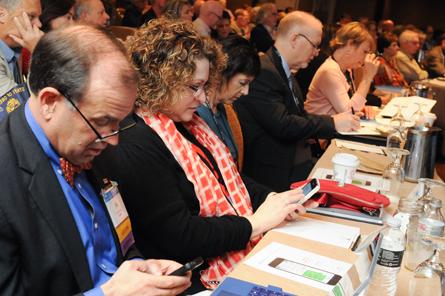 Arizona delegates NCARB's 2015 Annual Business Meeting