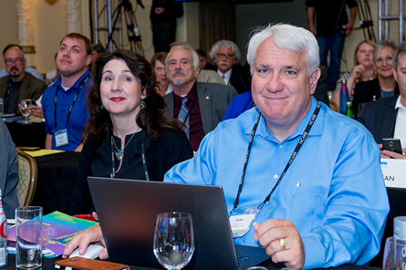 Julie McLaurin and John Monteith at 2016 NCARB meeting