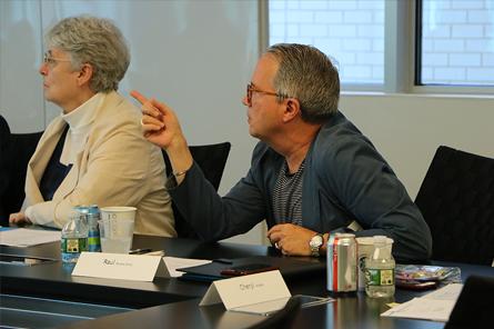 Raul Rivera-Ortiz at NCARB meeting