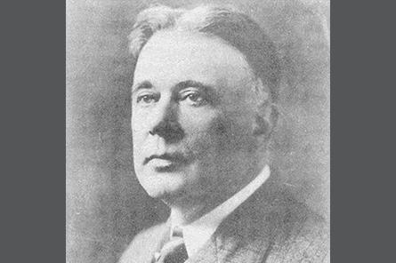 First Chairman President Paul Doty