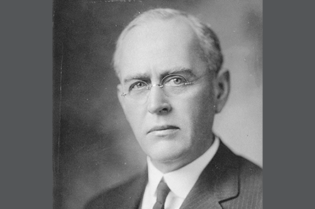 Secretary Treasurer Harry Taylor Downs