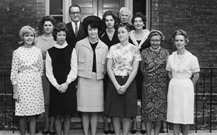 NCARB staff in 1960s