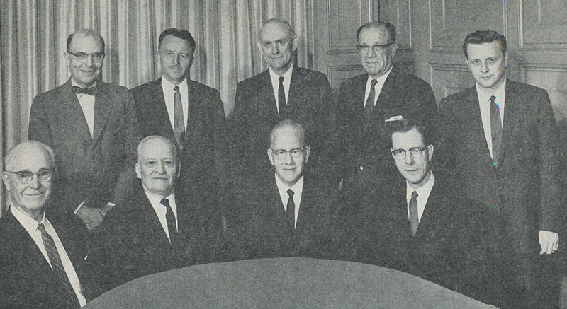 NCARB's 1959-60 Board of Directors.