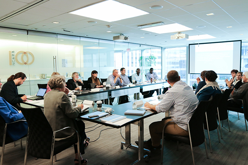 NCARB's FY19 Education Committee meets at the NCARB office in Washington, DC