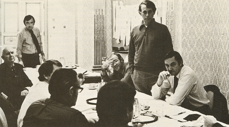 The Equivalency Examination Committee in 1971.