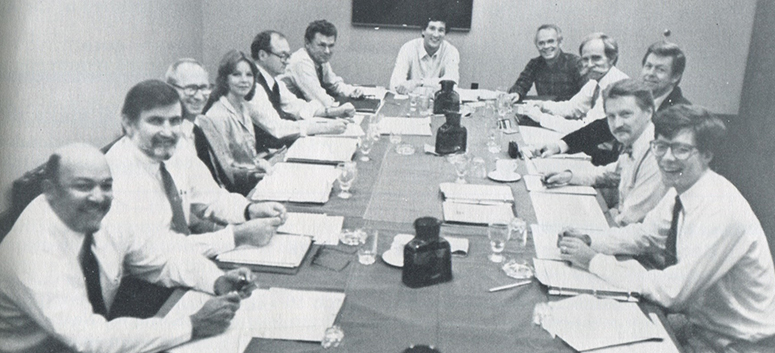 The 1983 IDP Coordinating Committee.