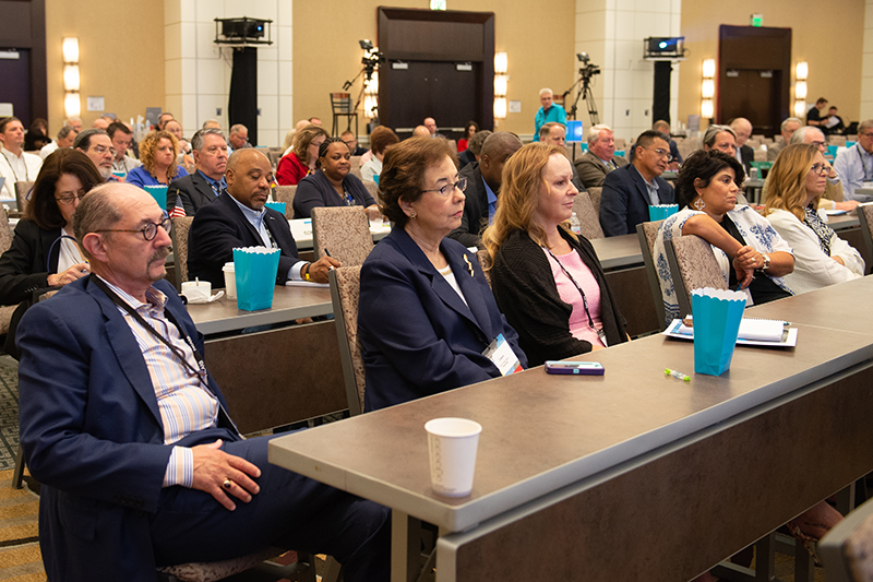 NCARB's members gather in 2018 for the organization's Annual Business Meeting.